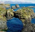 The coastal scenery of Snæfellsnes peninsula is dramatic and beautiful.