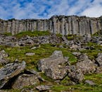 The Gerðuberg Basalt Columns are the first feature you'll see on this Snaefellsnes National Park Tour.