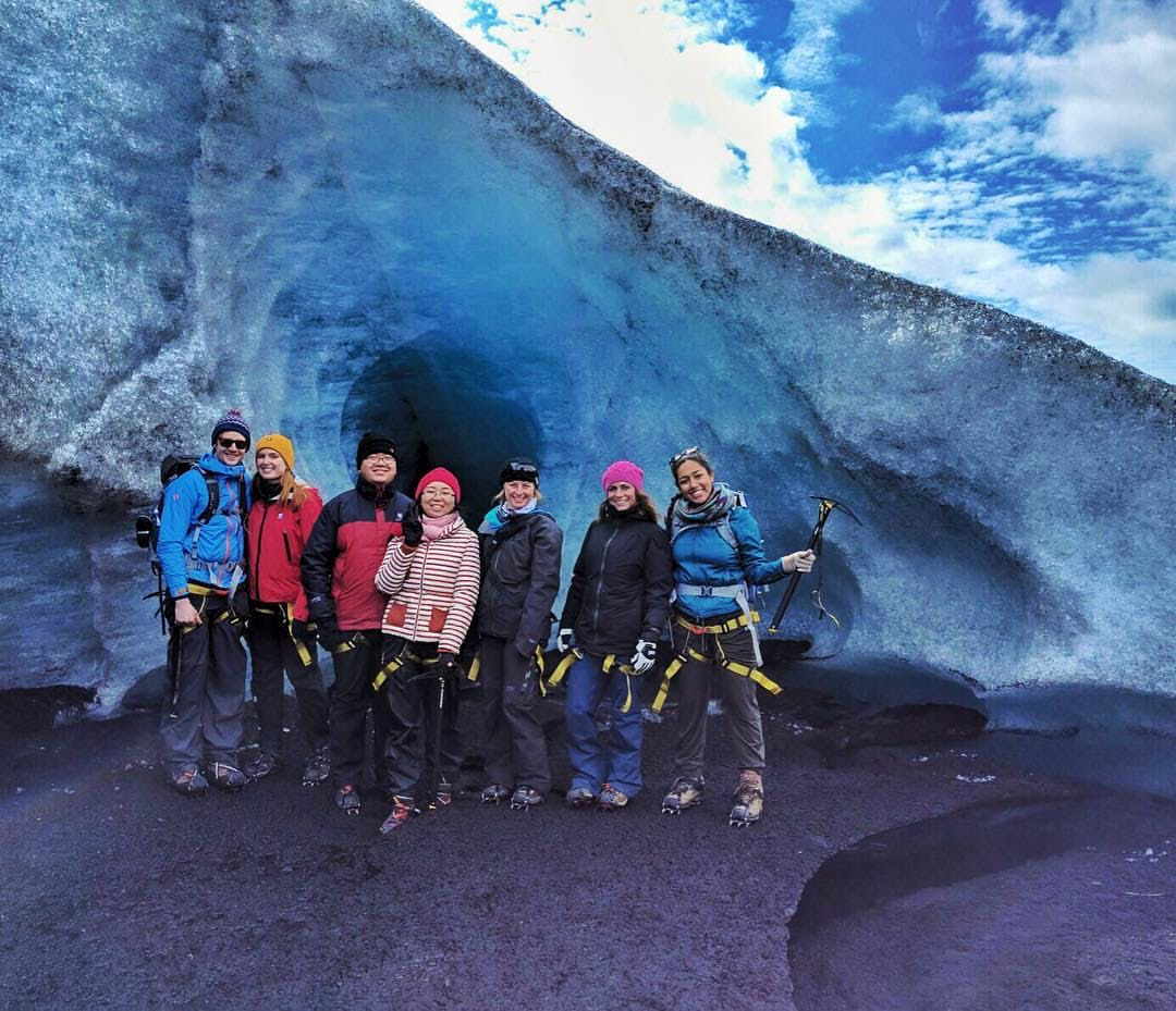 South Coast Elements | Glacier Hike, Lava Caving, DC-3 Plane Wreck & Hot Springs