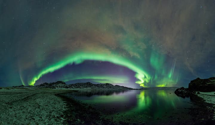 The Northern Lights can only be seen in the winter months.