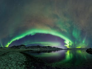 ATV & Northern Lights from Reykjavik