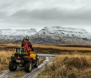 3-Hour Volcanic Springs ATV Tour from Reykjavik