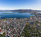Flying over Reykjavik by helicopter is the perfect ending to an ATV tour.