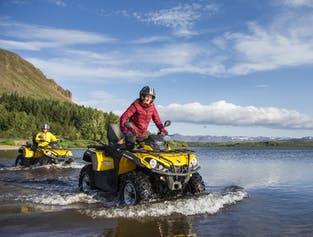1-Hour Mountain Safari ATV Tour from Reykjavik