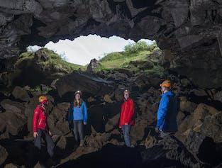 Buggy & Underworld Lava Caving Tour from Reykjavík