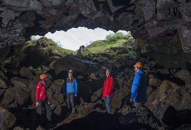 Buggy & Underworld Lava Caving Tour from Reykjavik