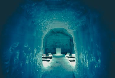 Snowmobile Tour & the Ice Tunnel   All Year from Reykjavik
