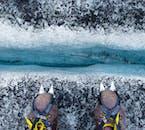 ドラマチックな光景が楽しめるソゥルヘイマヨークトルでの氷河ハイキング