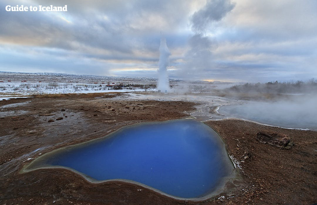 Golden Circle and Northern Lights tour | Audio guided in 10 languages