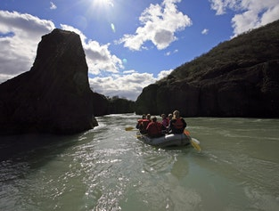 The Golden Circle Tour with River Rafting