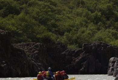 Whale Watching Tour and Rafting Adventure from Reykjavík