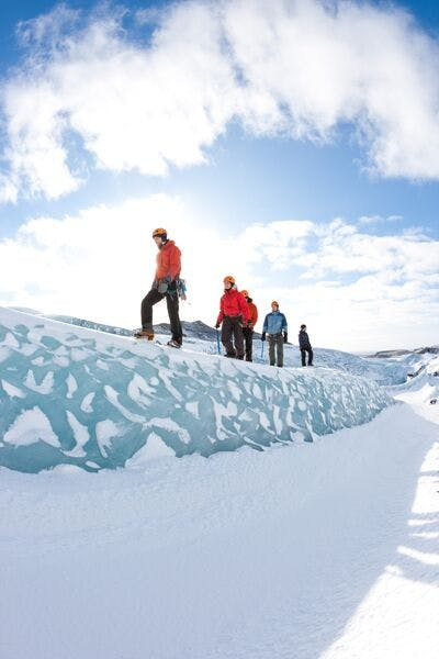 Glacier Experience from Solheimajokull Glacier in a small group