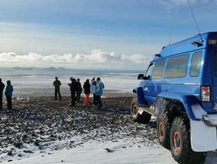 Eyjafjallajökull Super Jeep Tour