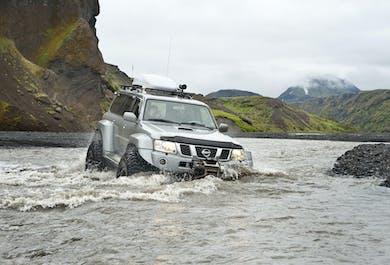 Super Jeep Day Tour to Thorsmork Valley