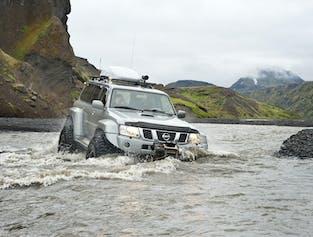 Thórsmörk Superjeep-Tour, ab Südisland | Abholung ab Reykjavík verfügbar