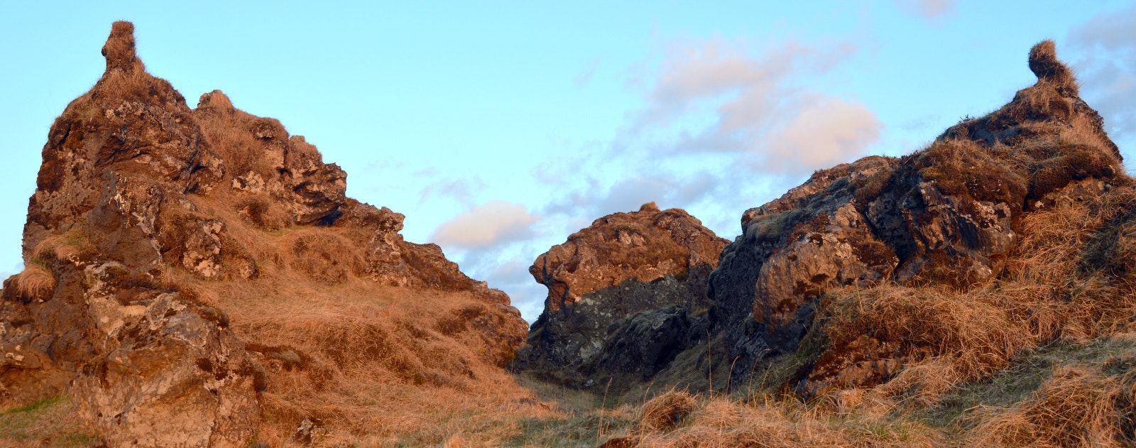 The Beautiful Elf City and Elf Church by Hotel Laki in South-Iceland