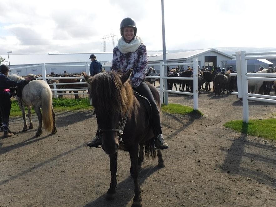 3 Horas montando a caballo