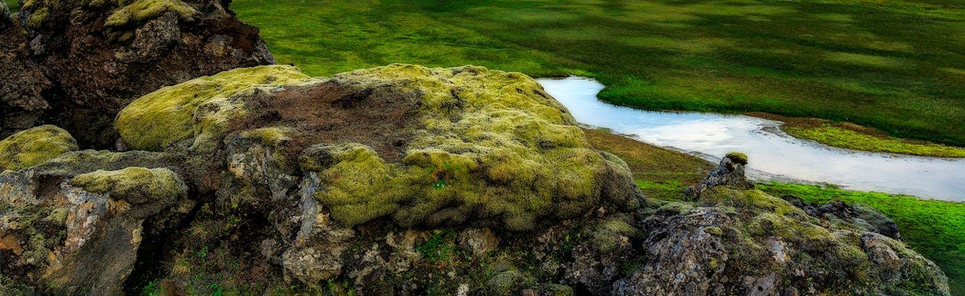 Landmannalaugar's stunning landscapes in Iceland's southern Highlands