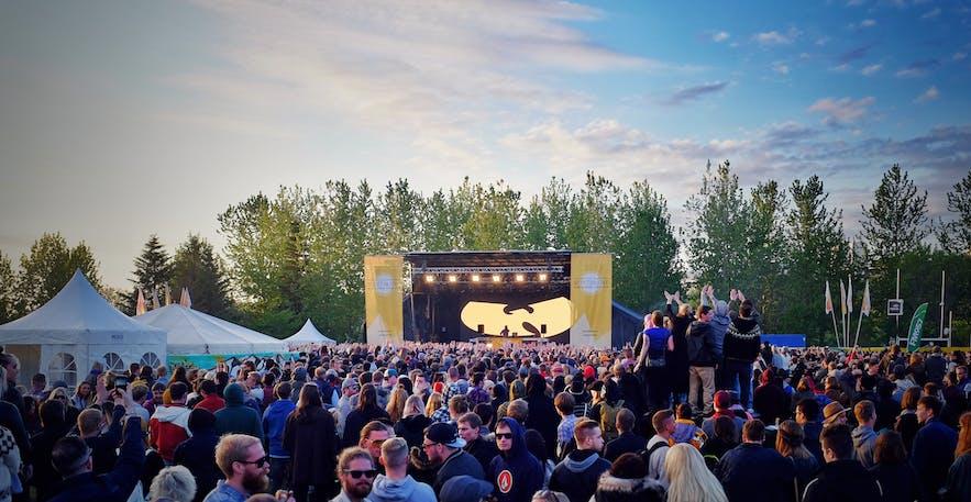 冰岛秘密夏至音乐节 Secret Solstice