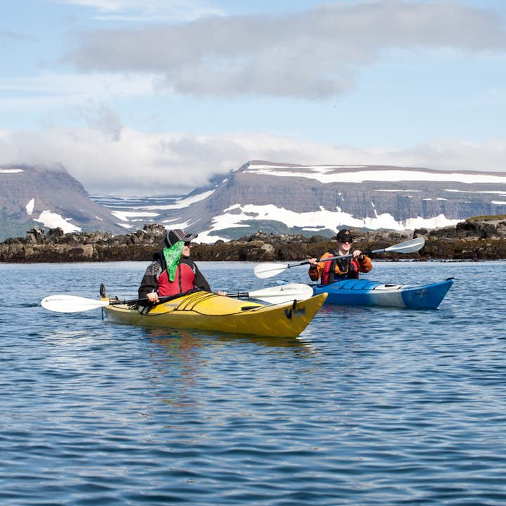 For kayaking opportunities in Iceland in summer, look no further than the Westfjords.