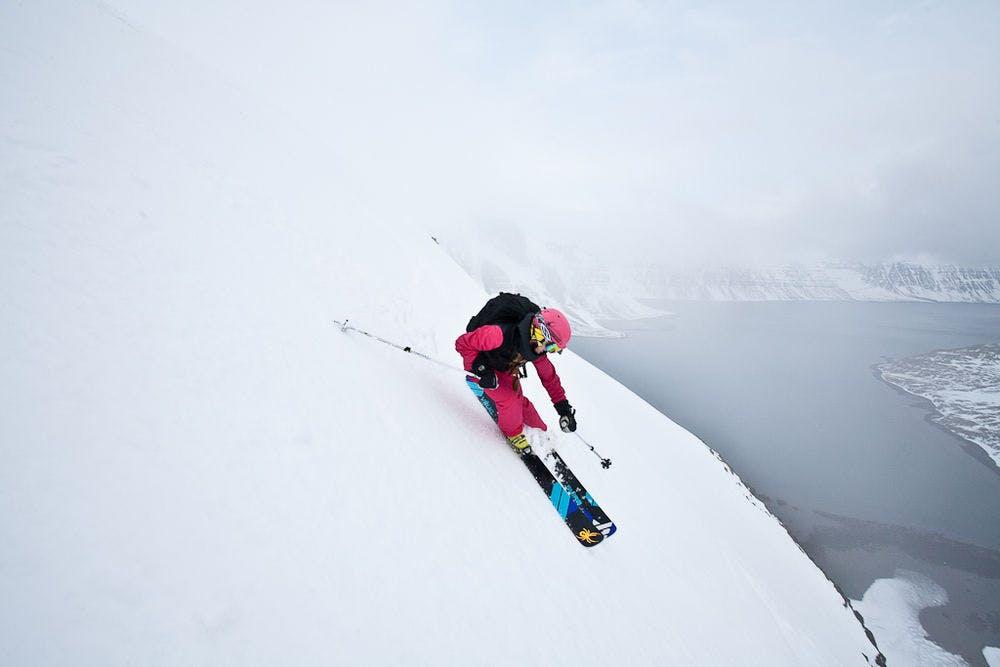 冰島的極限滑雪