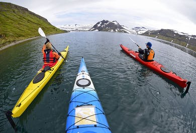 Paddle in the Wild of Hornstrandir | 6-Day Kayak Tour