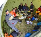 Your guide will provide all food on this kayak tour of the Westfjords, through Hornstrandir.