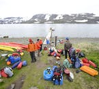 Camping in the Hornstrandir Nature Reserve in the Westfjords is a beautiful way to connect with the nature.
