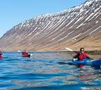 The mountains of the Westfjords are flat-topped and ancient, being formed 16 million years ago.