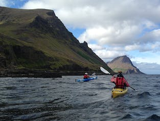 Kayaking to Oshlid | Westfjords Day Tour
