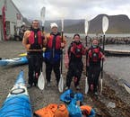 All equipment needed for the kayak tour will be provided for you once you reach the meeting point in the Westfjords.