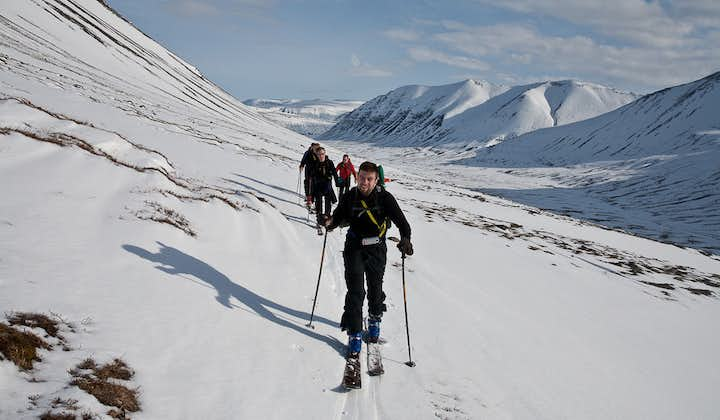 Cross country skiing makes for a fantastic alternative to hiking in the Westfjords.