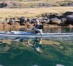 Wycieczka kajakami po Islandii, Fiordy Zachodnie w trakcie słonecznego dnia
