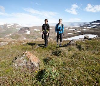 Hornstrandir-Naturreservat   ab Ísafjörður