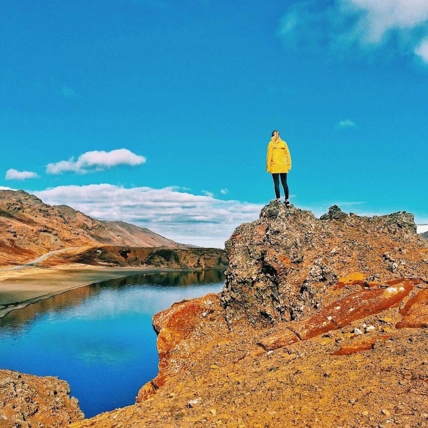 Kleifarvatn Diving in Iceland