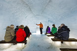 Ice Tunnel Day Tour from Reykjavik