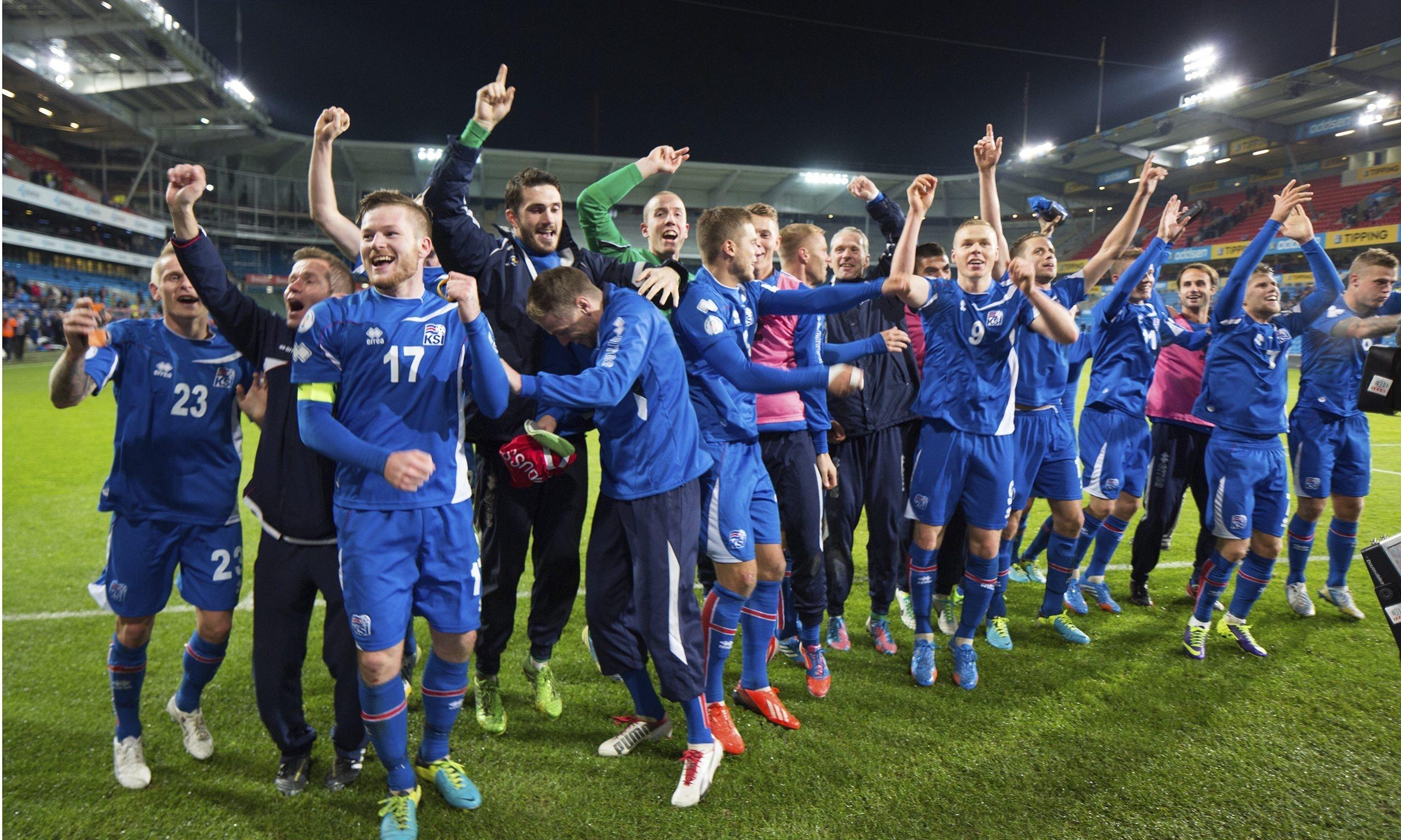 Iceland's men's football team