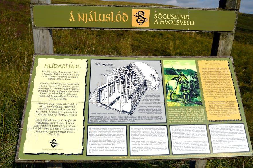 The beautiful Fljótshlíð in South-Iceland - the Saga of the Viking Njáll, Gluggafoss & Hotel Eyjafjallajökull