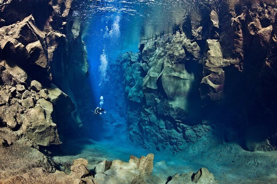 Nurkowanie w Silfra