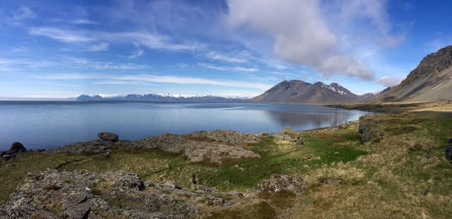 East Iceland in May