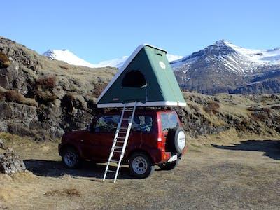 Suzuki Jimny avec tente de toit - boîte manuelle  2015