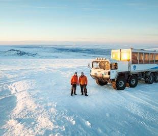랭요쿨 얼음 터널 탐험
