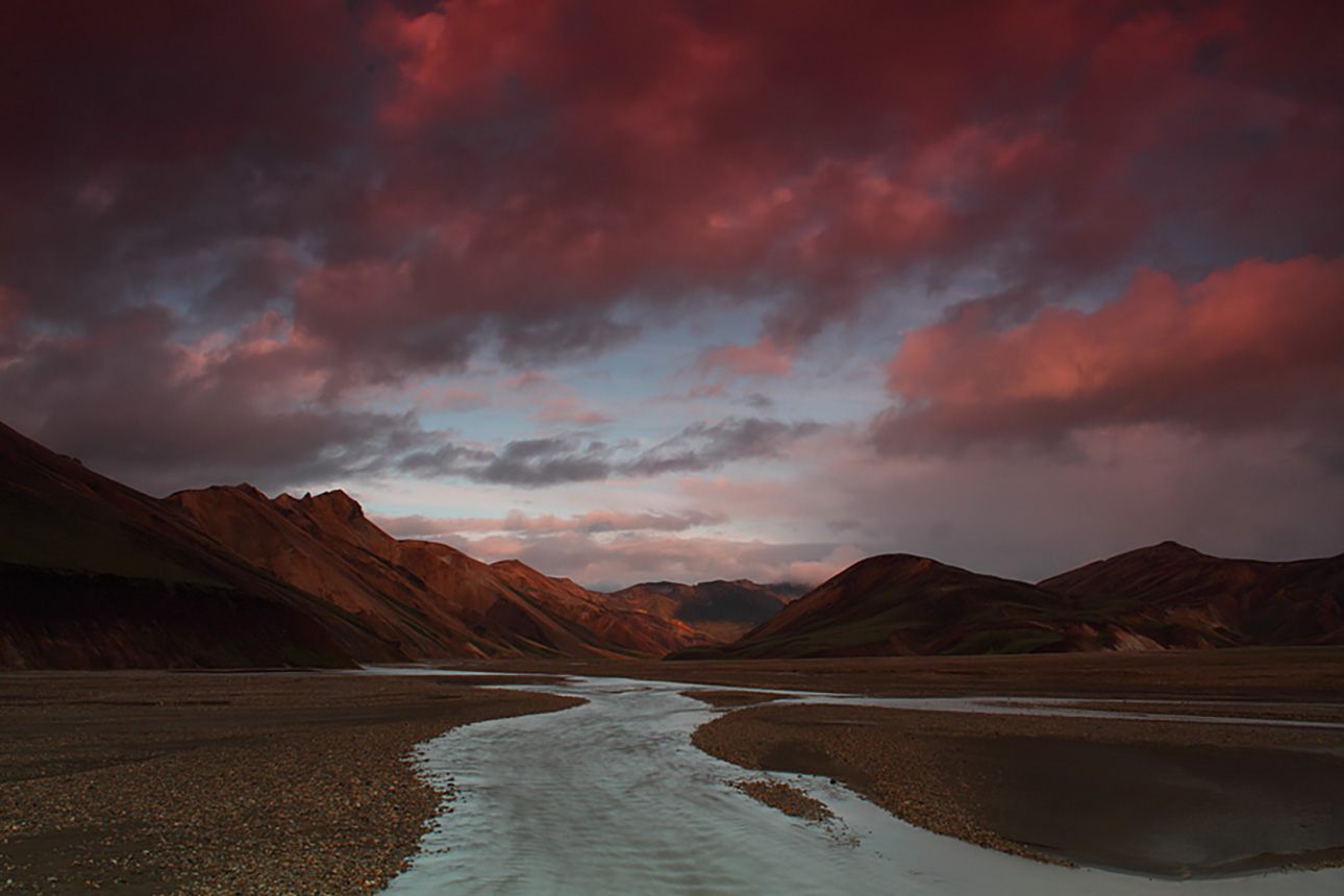The Landmannalaugar region is often referred to as the crown jewel of Iceland's Highlands.