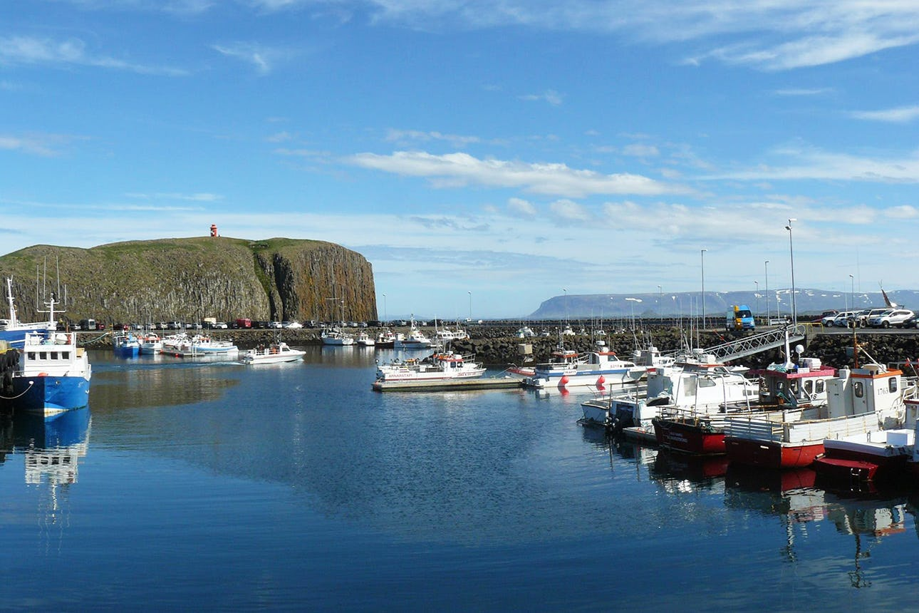 The Snæfellsnes peninsula is home to numerous authentic fishing villages.