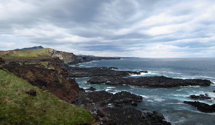 The rocky beaches on the Snæfellsnes peninsula are hauntingly beautiful.