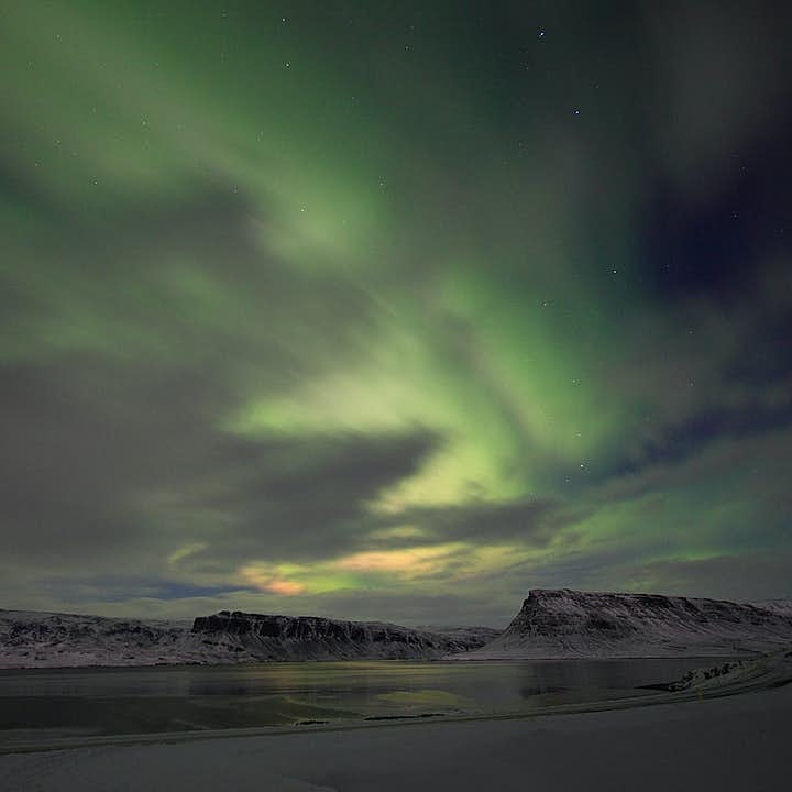 北极光+秘密温泉组合旅行团