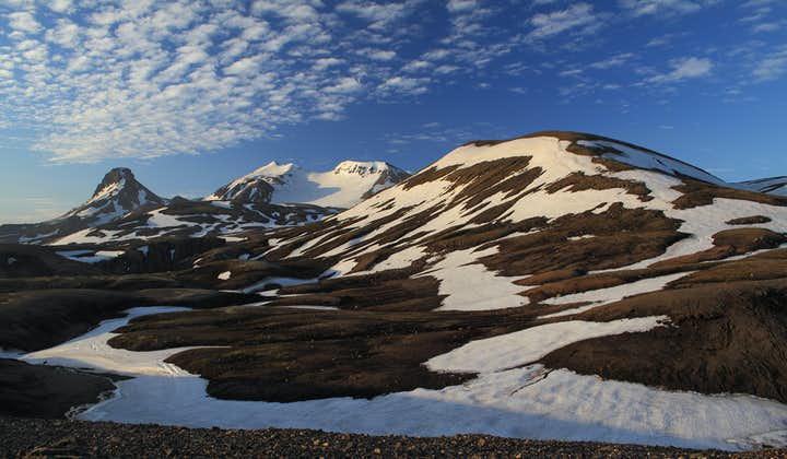 The Kjölur Highland road takes you through one of Iceland's most mountainous areas.