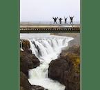 コールグリューフル(Kolugljúfur)渓谷のコールフォッサル滝の見学も予定されるツアー