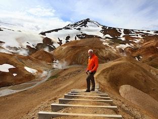 South Coast Hiking Tour | The Golden Circle & Kerlingafjöll Mountain
