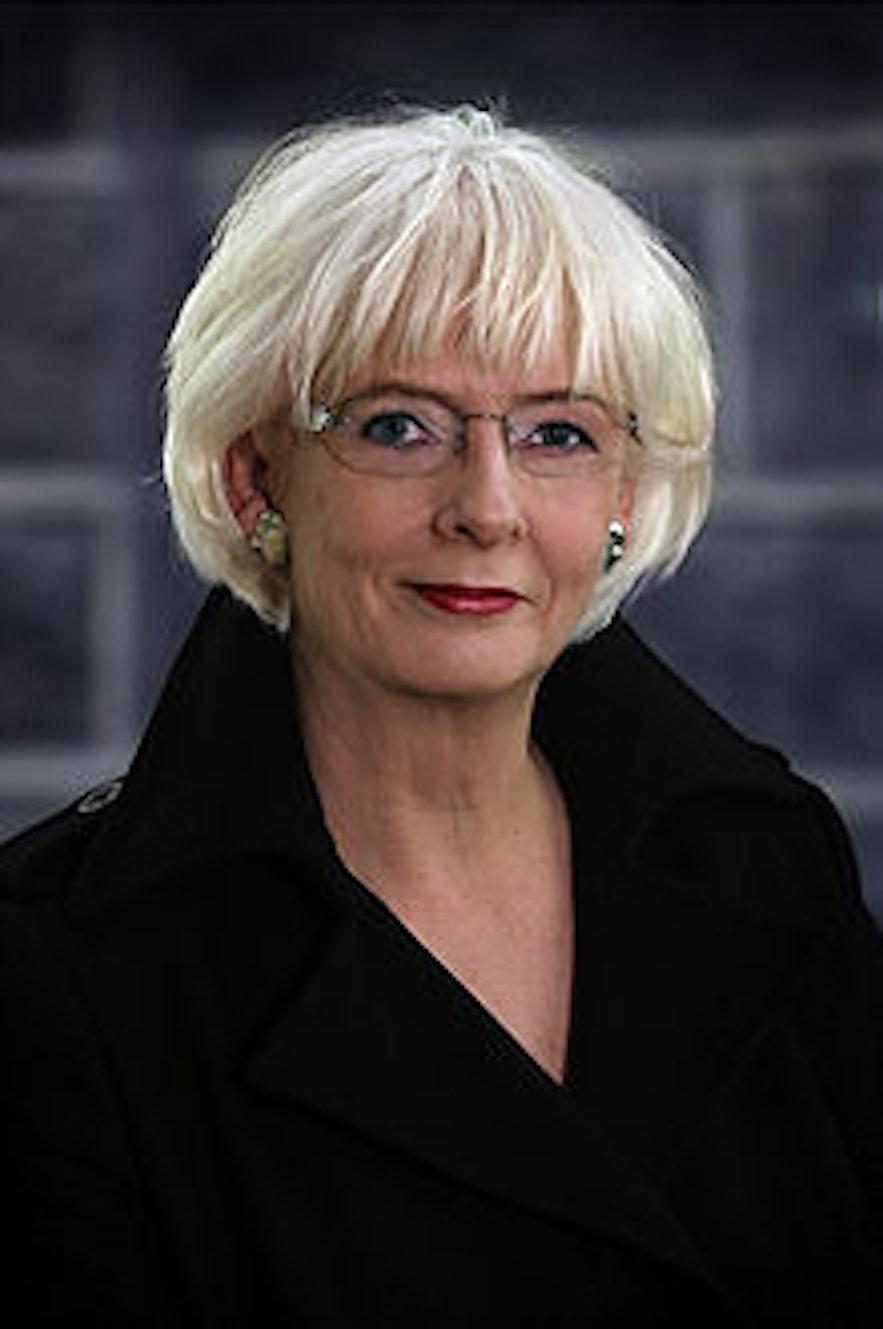 Jóhanna Sigurðardóttir, former prime minister of Iceland